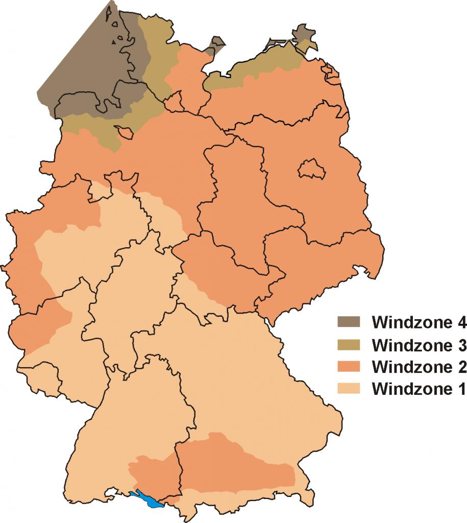 windzonenkarte